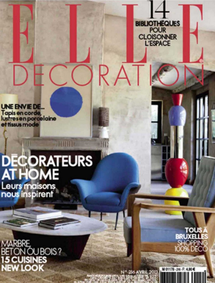 Best 5 french magazine for Elle decoration france