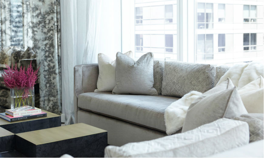 The Most Glamorous Living Room Ideas by Carlyle Designs