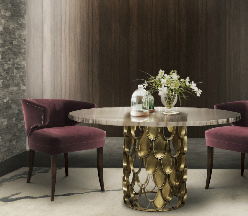 Top 10 dining room furniture design trends modern chairs for Dining room design trends