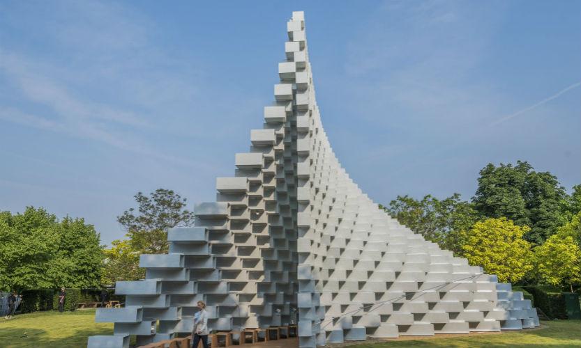 2016 Serpentine Gallery Pavilion Designed by Bjarke Ingels