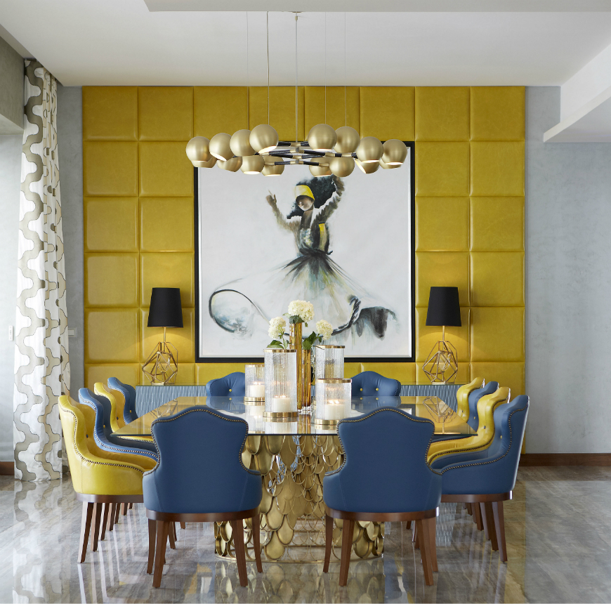 Dining tables inspirations for your interior design - BRABBU - KOI dining table dining tables inspirations Dining tables inspirations for your interior design Dining tables inspirations for your interior design BRABBU KOI dining table