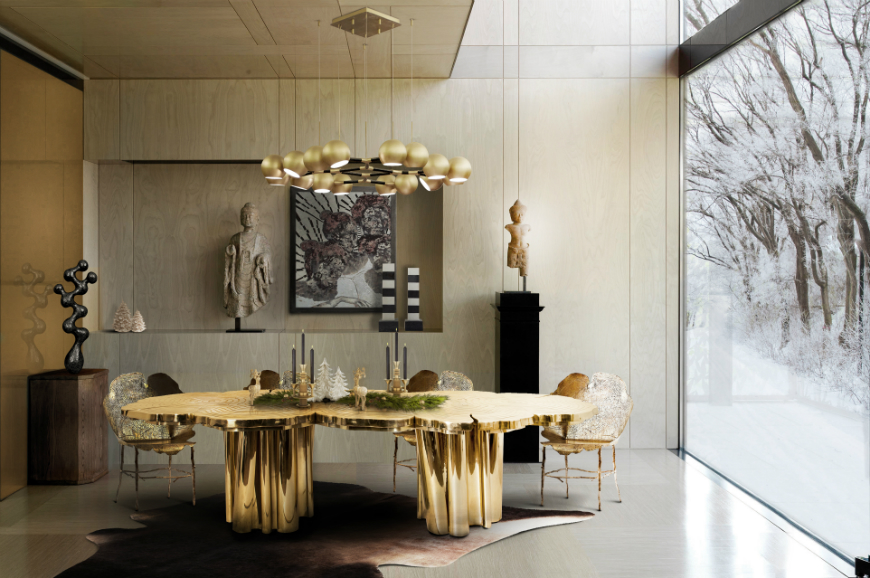 Dining tables inspirations for your interior design - Boca do Lobo - FORTUNA 2 dining tables inspirations Dining tables inspirations for your interior design Dining tables inspirations for your interior design Boca do Lobo FORTUNA 2