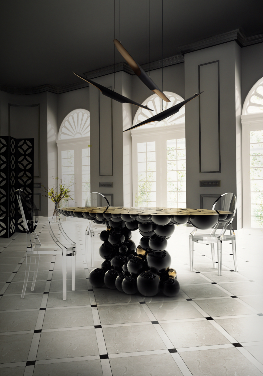 Dining tables inspirations for your interior design - Boca do Lobo - Newton dining table dining tables inspirations Dining tables inspirations for your interior design Dining tables inspirations for your interior design Boca do Lobo Newton dining table