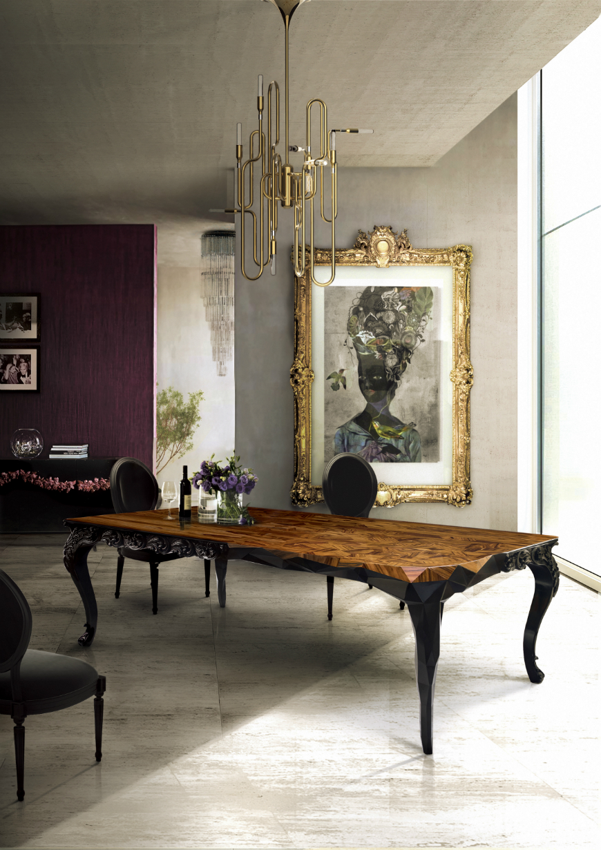Dining tables inspirations for your interior design - Boca do Lobo - Royal dining table dining tables inspirations Dining tables inspirations for your interior design Dining tables inspirations for your interior design Boca do Lobo Royal dining table
