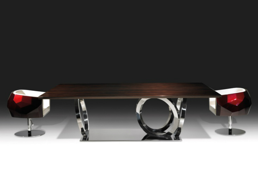 Dining tables inspirations for your interior design - Fendi Casa – Galileo dining table dining tables inspirations Dining tables inspirations for your interior design Dining tables inspirations for your interior design Fendi Casa     Galileo dining table