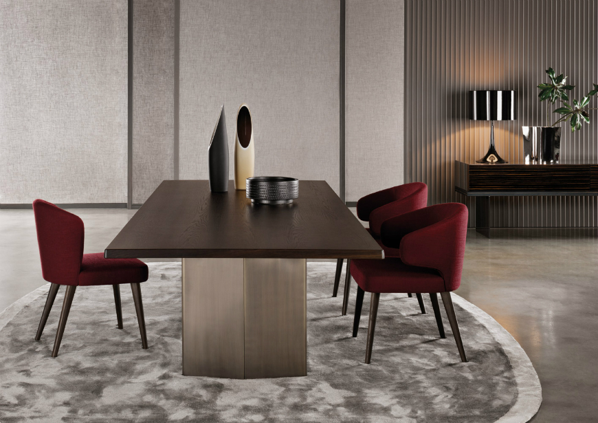 Dining tables inspirations for your interior design - Minotti – Aston dining table dining tables inspirations Dining tables inspirations for your interior design Dining tables inspirations for your interior design Minotti     Aston dining table