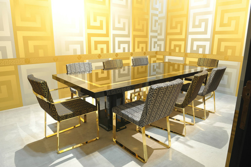 Dining tables inspirations for your interior design - Versace dining table dining tables inspirations Dining tables inspirations for your interior design Dining tables inspirations for your interior design Versace dining table
