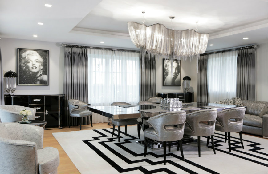 Peter Staunton Design 2 peter staunton PETER STAUNTON: A ROCK & ROLL CHIC APARTMENT IN LONDON Peter Staunton Design 2