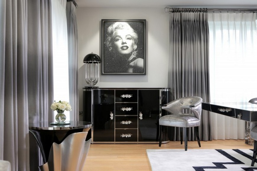 Peter Staunton Design 3 peter staunton PETER STAUNTON: A ROCK & ROLL CHIC APARTMENT IN LONDON Peter Staunton Design 3
