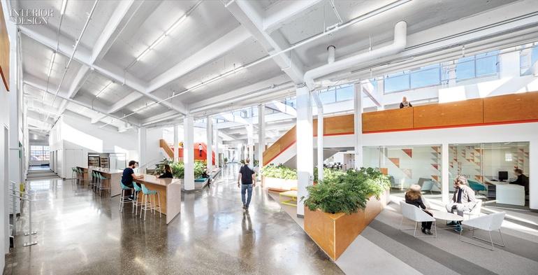 Interior Design Magazine Presents us 6 Forward-Thinking Offices