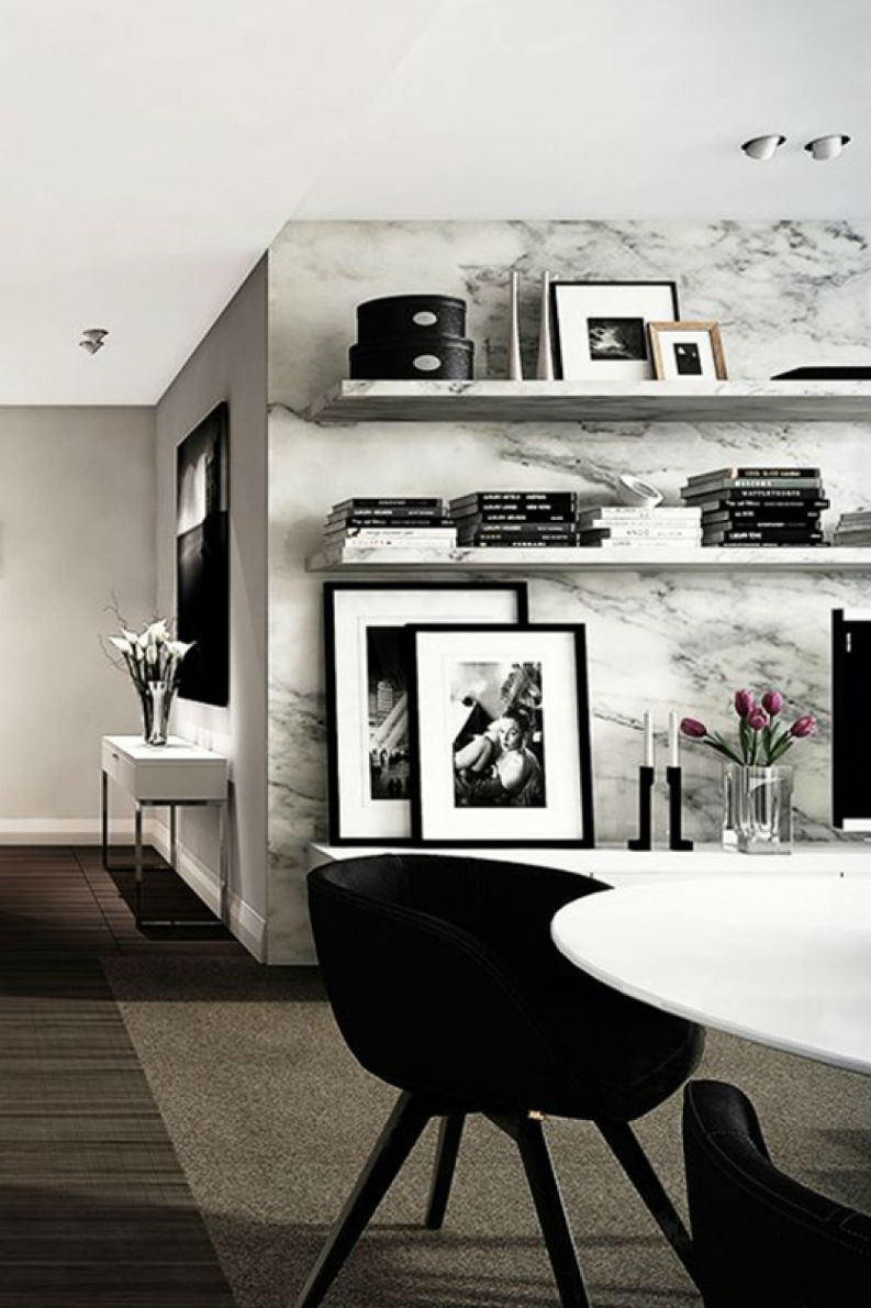 15 Trendy Rooms With Marble Decor That Will Bring Agra to You