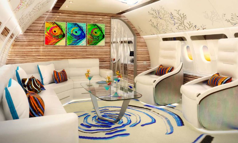 Private Jets Interior Design Tips Luxury Interiors Flying On The Air