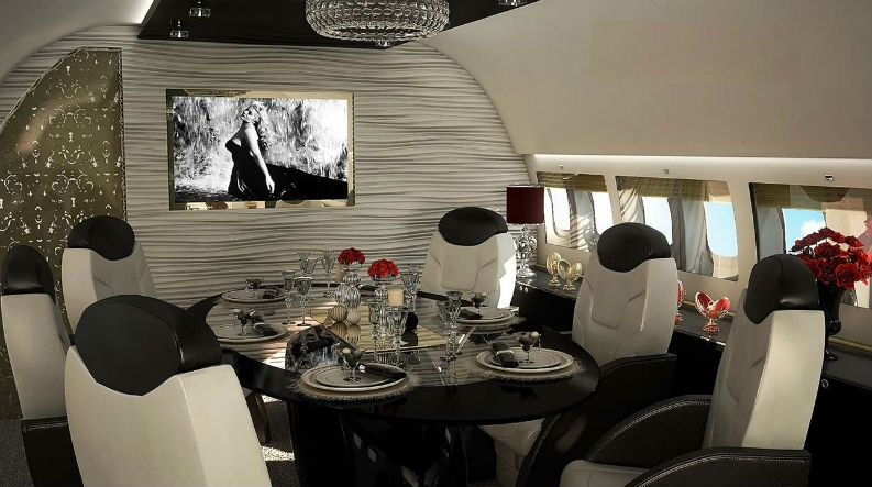 Private Jets Modern interior design Luxury Interiors Flying On The Air interior design tips Private Jets Interior Design Tips: Luxury Interiors Flying On The Air Private Jets Interior Design Tips Luxury Interiors Flying On The Air Dolce Vita BBJ4