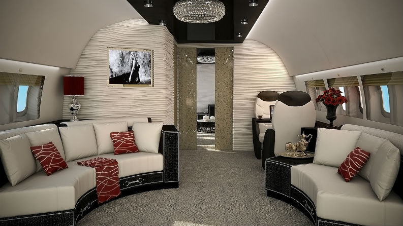 Private Jets Modern interior design Luxury Interiors Flying On The Air interior design tips Private Jets Interior Design Tips: Luxury Interiors Flying On The Air Private Jets Interior Design Tips Luxury Interiors Flying On The Air Dolce Vita BBJ5