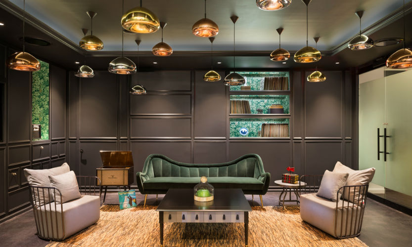TOP DESIGNERS TPG ARCHITECTURE FEATURE BRABBU AT SPOTIFY NY OFFICE