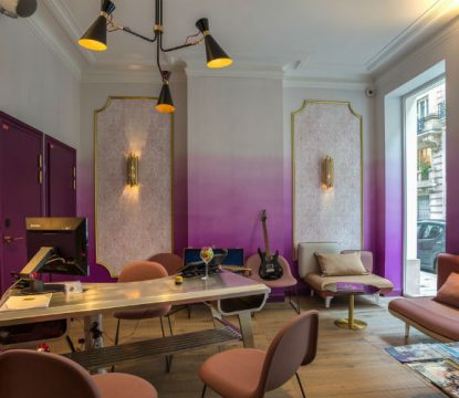 Best Hotels: Delightfull Décors The Grooviest Hotel in Paris
