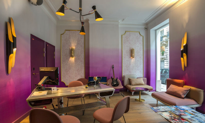 Best Hotels Delightfull Décors The Grooviest Hotel in Paris