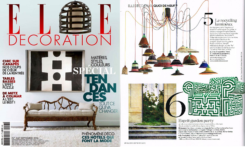 ELLE Décoration Septembre best interior design magazines Best Interior Design Magazines: 5 Editions Of ELLE Décoration BlogCapa