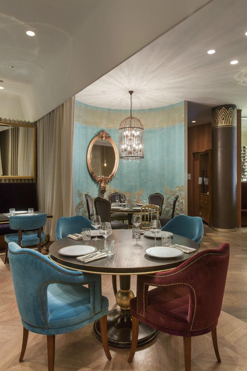 Brabbu and cococo restaurant give luxurious interior
