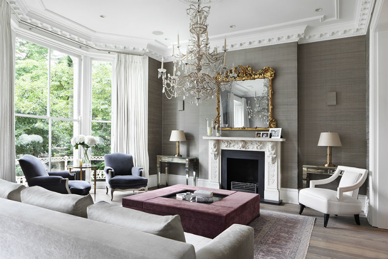 Classical and eclectic style - Carden C. interior design The 5 Wonders of Interior Design Carden Cunietti 1