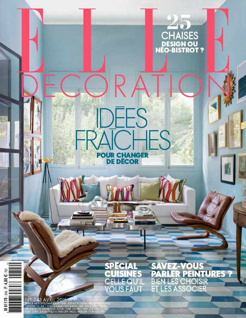 Best interior design magazines: ELLE Décoration Avril 2016 best interior design magazines Best Interior Design Magazines: 5 Editions Of ELLE Décoration ELLE D  coration April