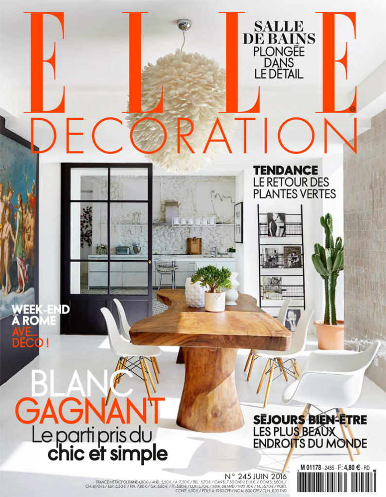 Best interior design magazines: ELLE Décoration Juin 2016 best interior design magazines Best Interior Design Magazines: 5 Editions Of ELLE Décoration ELLE D  coration JUIN