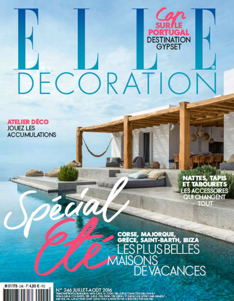 Best interior design magazines: ELLE Décoration Juillet-Août 2016 best interior design magazines Best Interior Design Magazines: 5 Editions Of ELLE Décoration ELLE Dcoration JUILLET AOUT