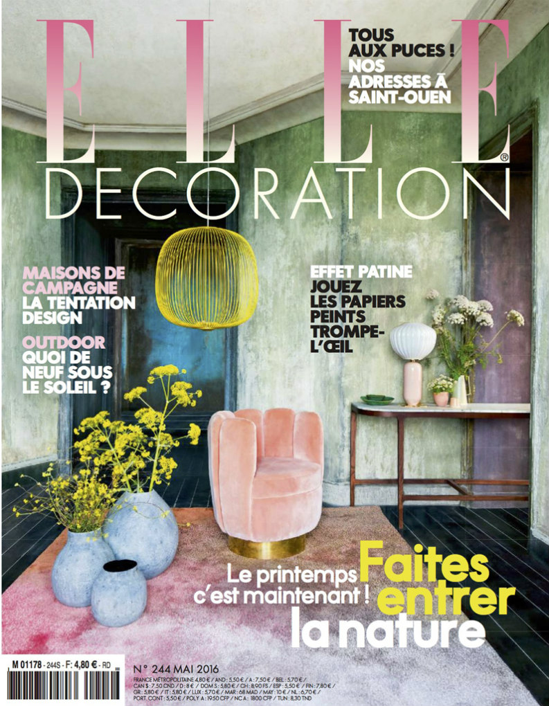 Best interior design magazines: ELLE Décoration Mail 2016 best interior design magazines Best Interior Design Magazines: 5 Editions Of ELLE Décoration ELLE Dcoration MAI