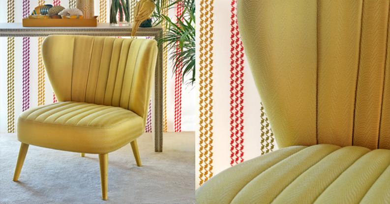 Pantone fashion colour: (ALDECO MISTED YELLOW)