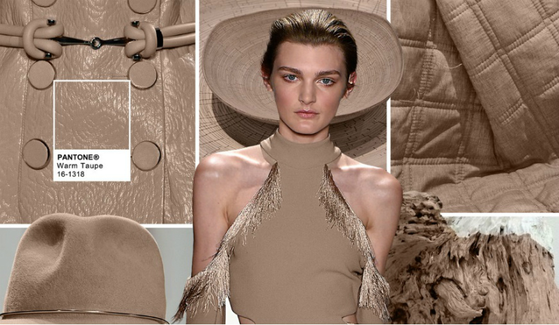 Pantone fashion colour: fabrics for fall 2016: Warm Taupe Pantone 16-1318 fabrics for fall 2016 Pantone Fashion Colour: Fabrics For Fall 2016 Warm Taupe Pantone 16 1318