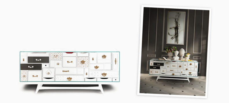 """mondrian-white-sideboard-limited-edition-by-boca-do-lobo - Furniture pieces with a """"wow"""" factor design furniture Interior Design Furniture Pieces With A """"Wow"""" Factor mondrian white sideboard limited edition by boca do lobo e1473240923726"""