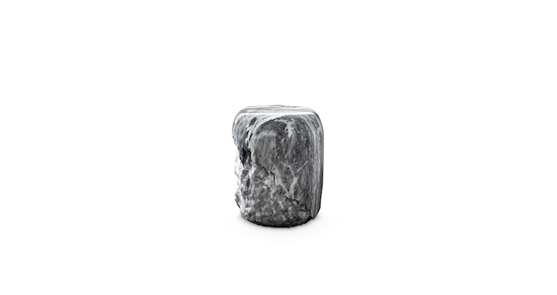 yoho carrara home decor home decor This Autumn's Interior Trend You Need To Know: Grey Home Decor yoho carrara marble stool contemporary design by brabbu 2