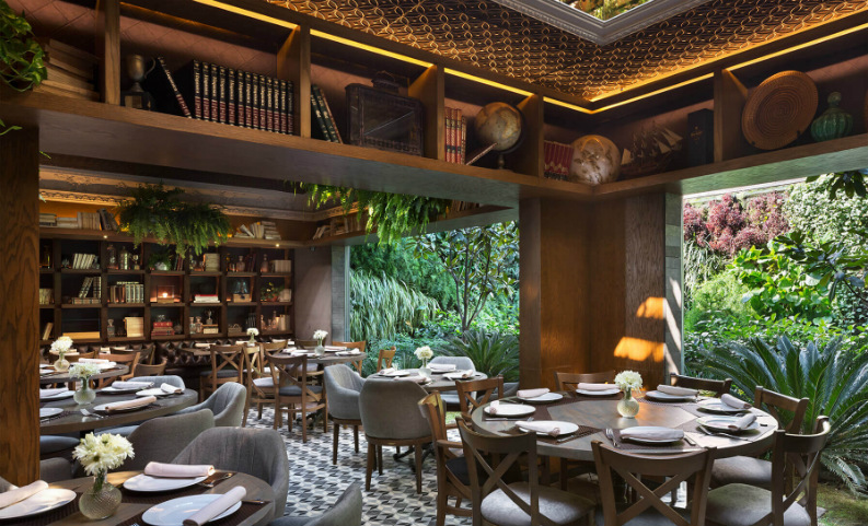 6 Incredible Restaurant Interior Design From AD Mexico_Restaurant Silvestre