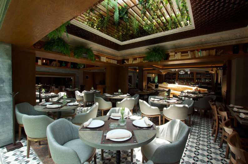 Interior Design From AD Mexico_Restaurant Silvestre2