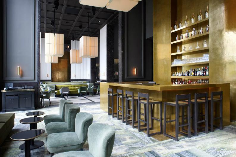 6 Incredible Restaurant Interior Design From AD Mexico_monsieur-bleu