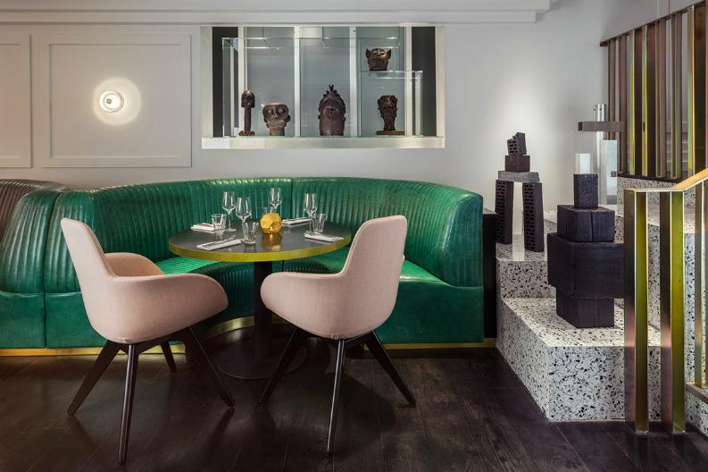 Interior Design From AD Mexico_Bronte Restaurant2