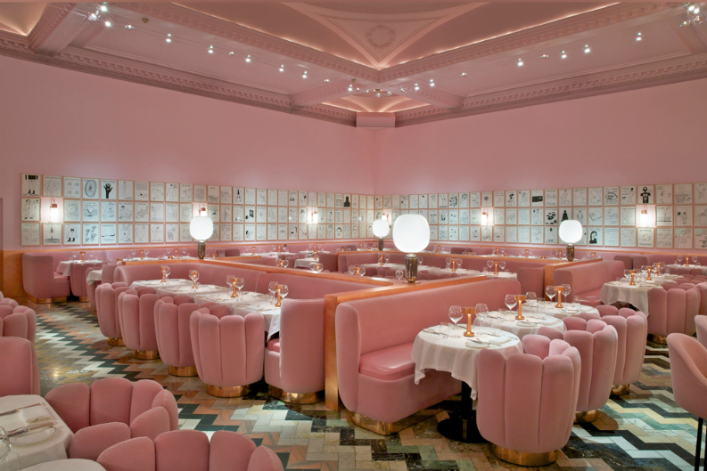 6 Incredible Restaurant Interior Design From AD Mexico_Sketch Gallery, London2