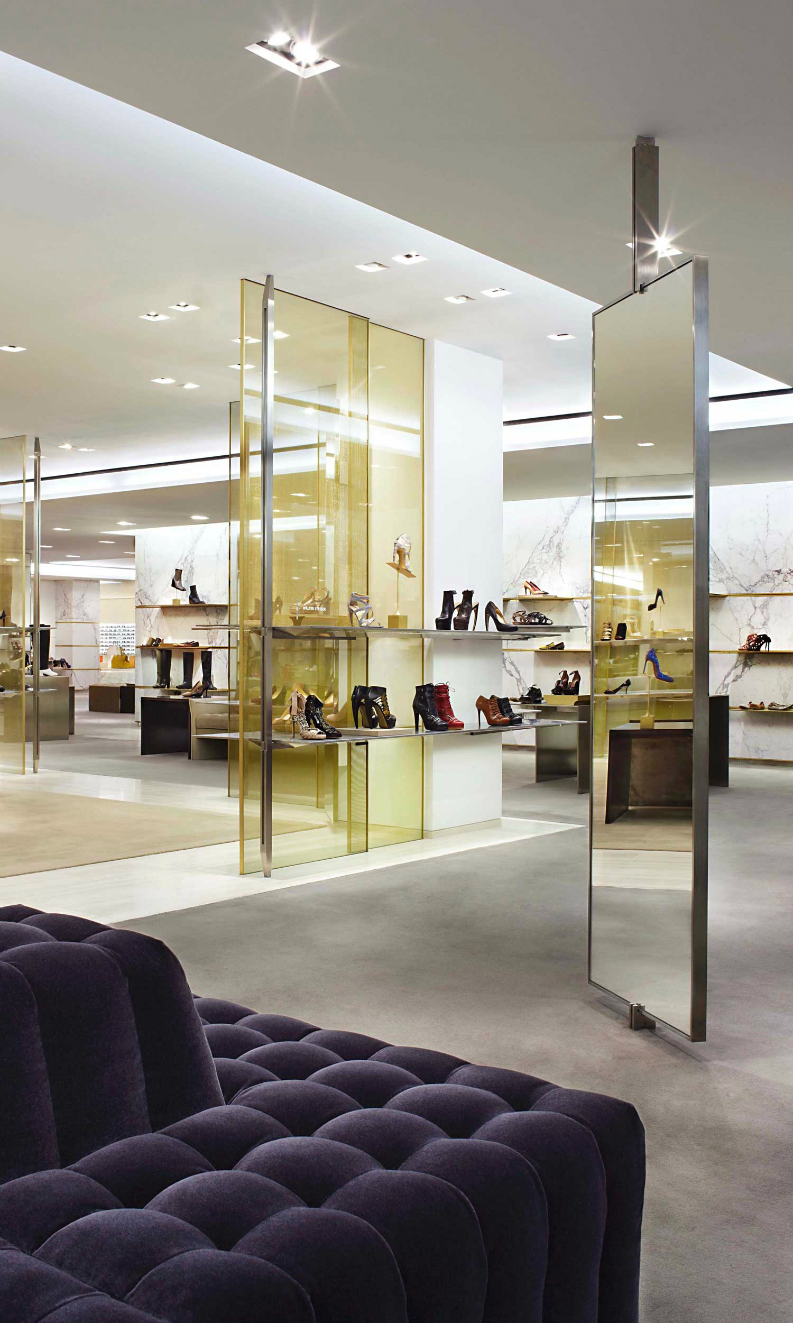 best interior designers, retail design, Yabu Pushelberg, hospitality projects, brabbu retail design projects BEST RETAIL DESIGN PROJECTS BY YABU PUSHELBERG Barneys NY 5 best interior designers retail design Yabu Pushelberg hospitality projects brabbu