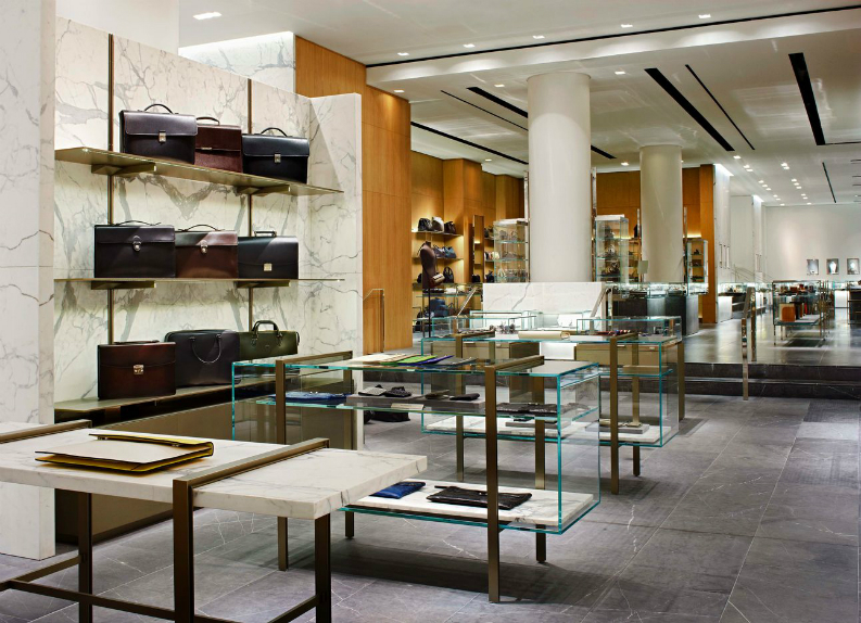 retail design project retail design projects BEST RETAIL DESIGN PROJECTS BY YABU PUSHELBERG Barneys NY best interior designers retail design Yabu Pushelberg hospitality projects brabbu