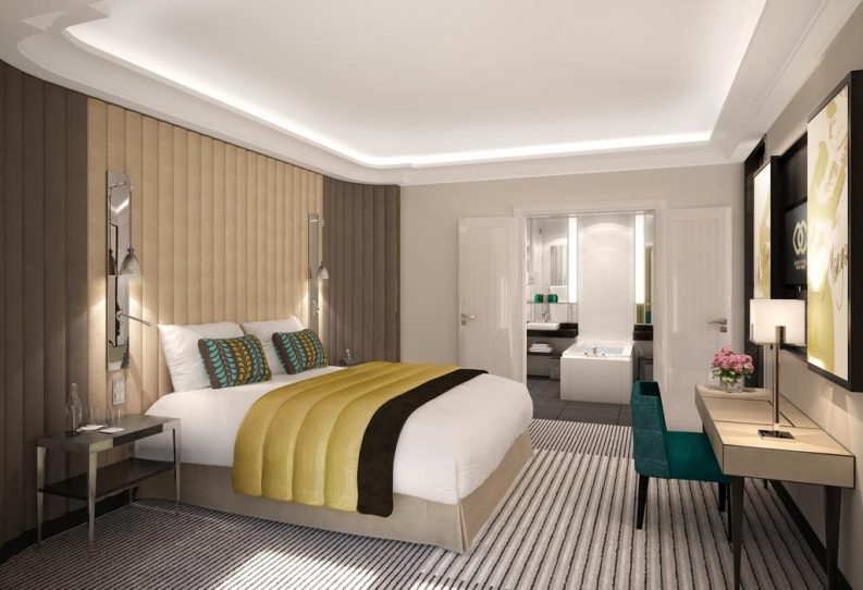 Exquisite Sofitel Hotel Design in Frankfurt Featuring BRABBU hotel design Exquisite Sofitel Hotel Design in Frankfurt Featuring BRABBU Hotel Rooms e1479722989351