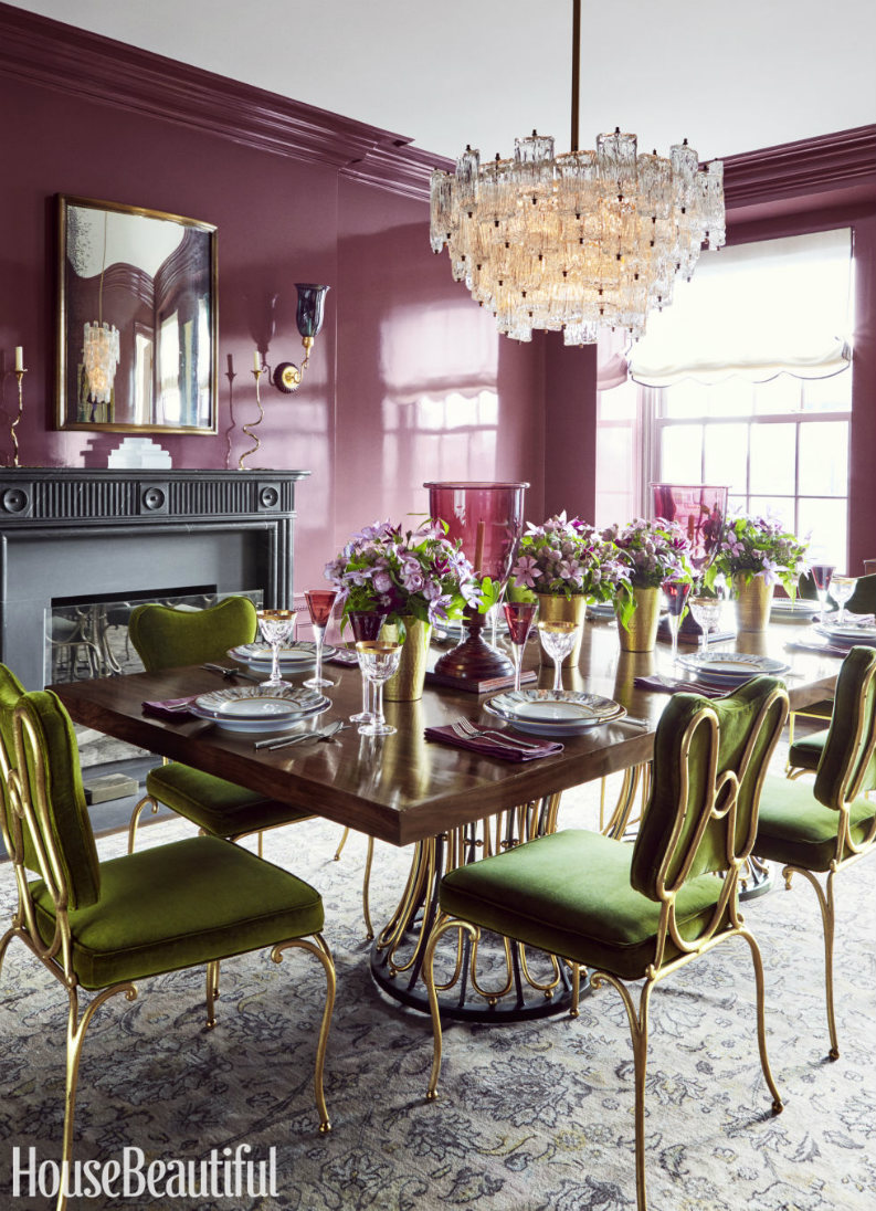 7 amazing dining room ideas in house beautiful that you for Homes with beautiful dining rooms