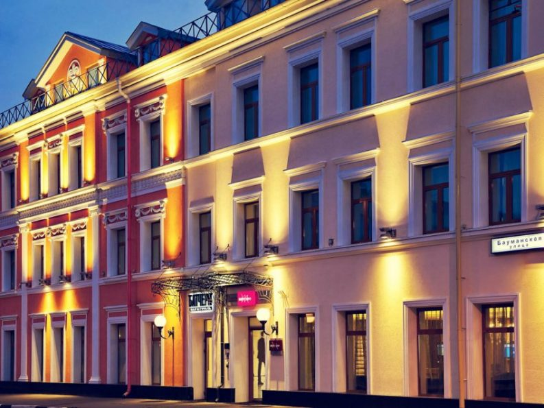 Mercure hotel interior design in moscow by renowned for Design hotel mosca