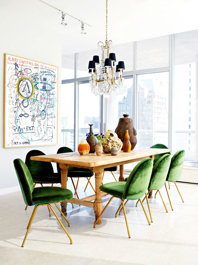 Green interior decor