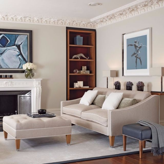 Chic Elegance Of Neutral Colors For The Living Room 10 Amazing Examples: 10 Interior Design Tips On How To Style A Small Living Room