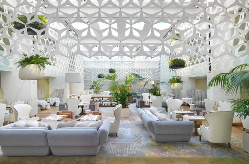 10 Interior Design Tips From The World's Best Hotel Lobby Designs