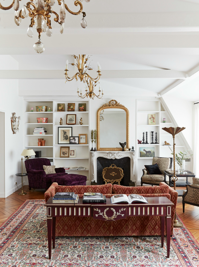 Parisian Decor Ideas Living Room