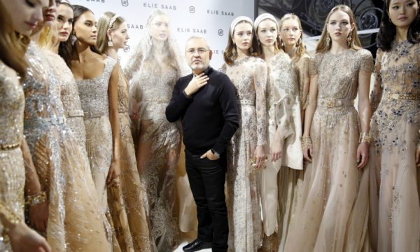 Best Moments From Backstage at Elie Saab Couture Spring 2017