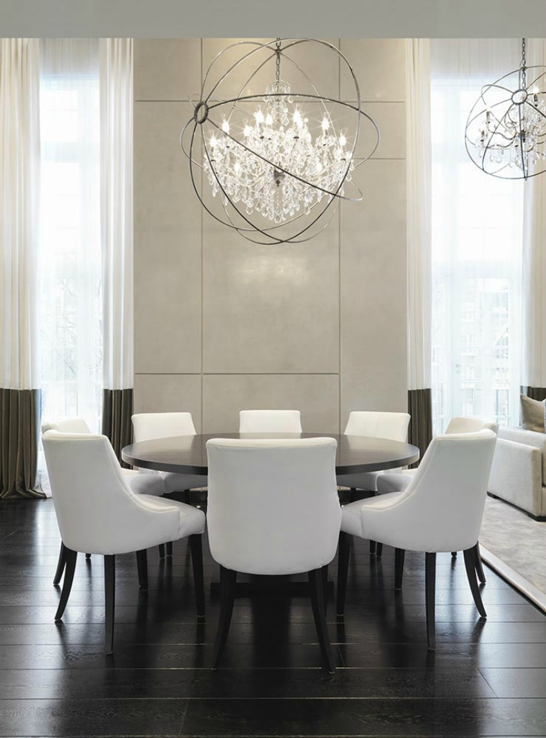 Top 5 dining room ideas from the best designers in the uk for Dining room designs uk