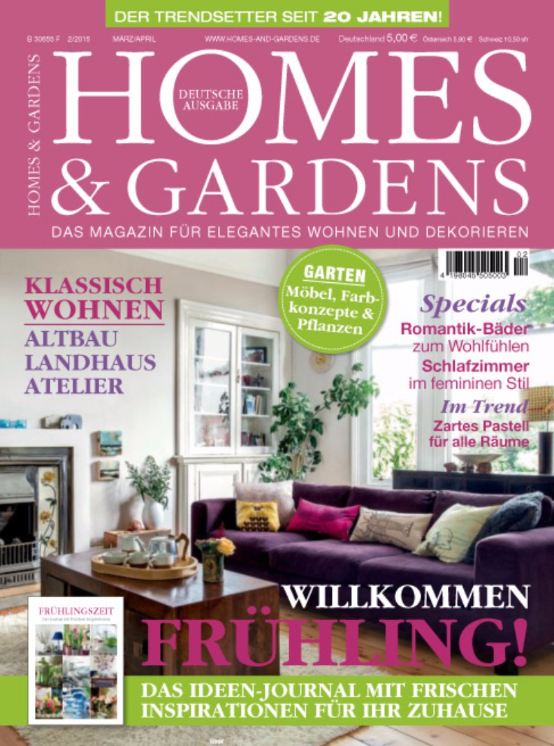 The best german interior design magazines for home design for Home builders magazine