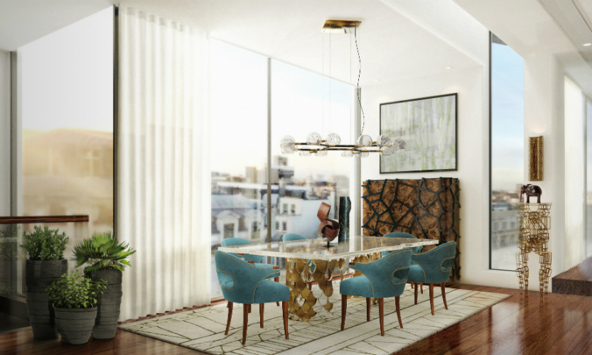 6 Incredibly Modern Lamps To Inspire Your Dining Room Interior Design